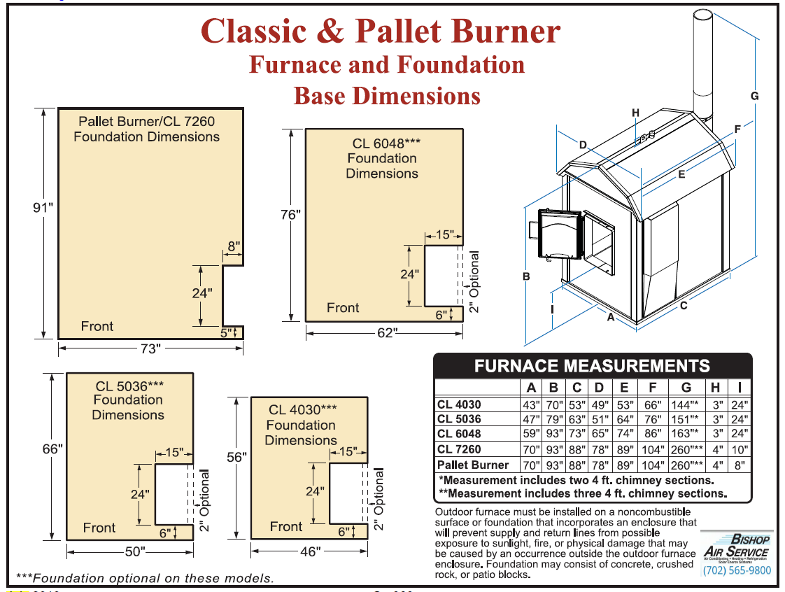 Pallet Burner | Bishop Brothers